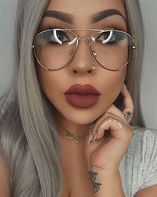 Clear Glasses Frame Trend : Classic Clear Glass Sunglasses 2017 Luxy Trend